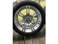 Full Set of Genuine BMW 350M Sport Double Spoke 18'' Alloy Wheels with Tyres