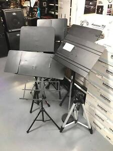 ***LIQUIDATION LUTRINS *** MUSIC STANDS ! 10$