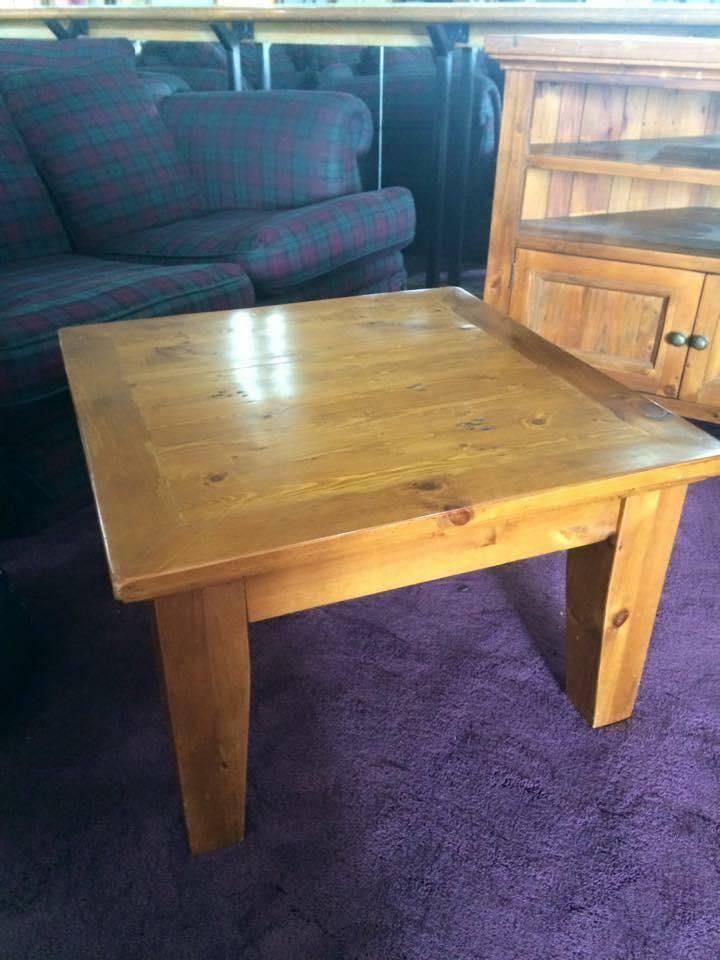 Solid Oak Coffee Table In Anniesland Glasgow Gumtree