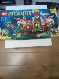 Lego 8077 Lego Atlantis Atlantis Exploration Hq Brand New
