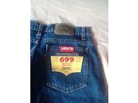 Levi jeans 699, 28 waist, BNWT