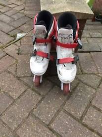 Child's bratz roller blades
