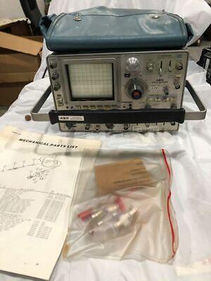 Vintage Tektronix 485 200 Mhz 4-channel Oscilloscope Scope
