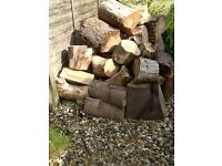 Logs and kindling