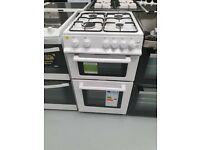 NEW WORLD GAS COOKER TWIN CAVITY 50CM - WHITE