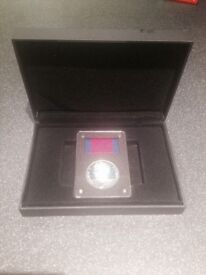 The Waterloo Campaign Medal in Silver coin