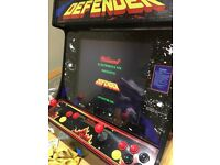Arcade desktop machine