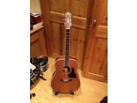 Crafter d7 acoustic guitar