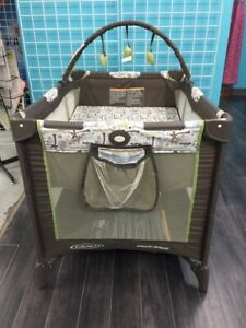 Greco Pack n Play , play pen with bassinet