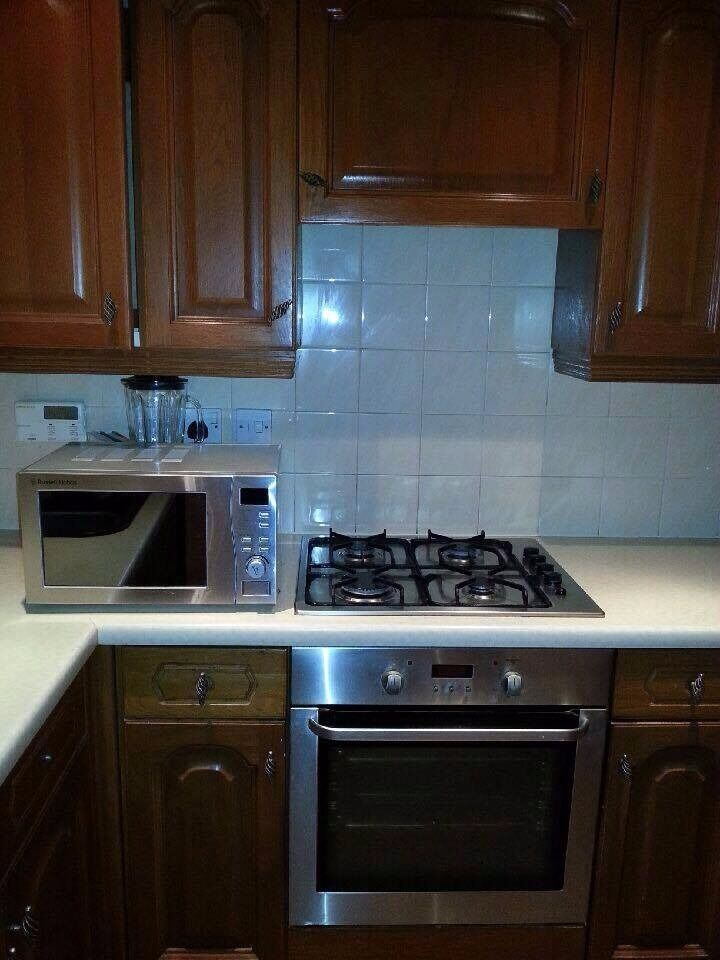 Used Kitchen Appliances Wooden Units For Sale