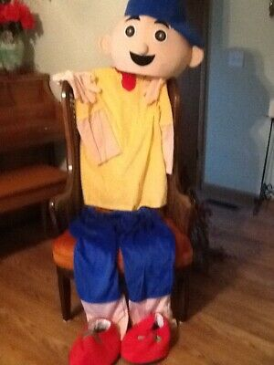 Caillou Mascot Costume new adult free shipping - Caillou Costume
