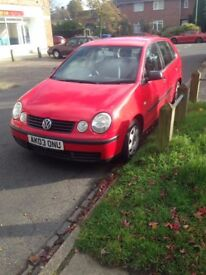 VW Polo, ideal first car, being sold as im at uni and no longer use