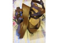 New look Tan sandals