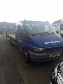 Ford TRANSIT 350 MWB TD recovery truck