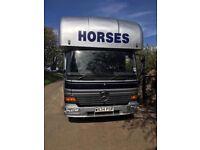 Mercedes Atego 814 7.5 tonne 2000 horse lorry