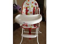Kiddicare highchair