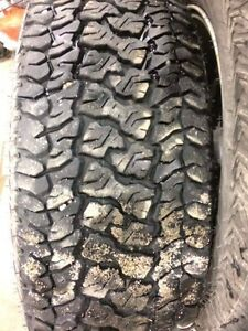 265/70 r17 4 winter tire and rims