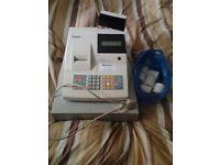 Sam 4s er-380m electronic cash register with 6 till rolls
