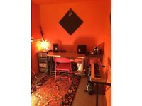 Music production / rehearsal studio for monthly hire Manor House N4
