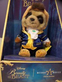 Meerkat Beauty and the Beast Oleg Toy BNIB Disney