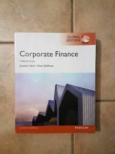 FINM3401 Corporate Finance 3rd Edition 2014 Pearson Forestdale Logan Area Preview
