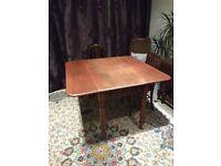 Antique Victorian mahogany Pembroke table.