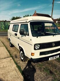 Vw t25 pop top campervan