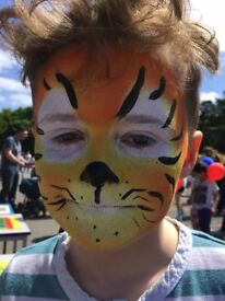 Face painting 2 hours children's party