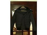 Zara Mens Jacket Coat - Super Warm - Medium - Dark Grey