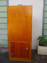 Antique Vintage WOODEN ICEBOX Ice CHEST type Cupboard 2 door Gawler Gawler Area Preview