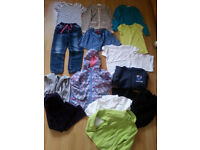 Bundle of girl clothes age 4-5 years