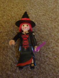 Playmobil As New Complete Witch Set Only £2