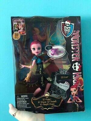 2013 Mattel Toys GiGi Grant - Monster High Doll - Unopened / In Box