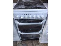 INDESIT FREE STANDING 50cm ELECTRIC COOKER,