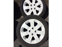 "Vauxhall 15""alloy wheels worcester"