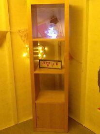 Chunky Swedish Display Unit / Cupboard