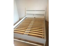 Double Bed Ikea Trysil is in perfect condition. Not a scratch!!