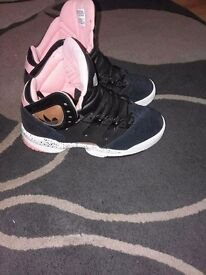 Adidas womans high tops