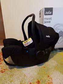 Juva Classic 0+ Car Seat Black Ink