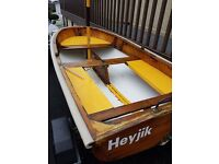 UFFA FOX Design 9'Duckling hot moulded classic sailing dinghy