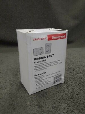 Honeywell H8908a Spst Low-voltage Spst Manual Humidistat