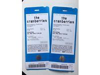 Cranberies tickets for Berlin