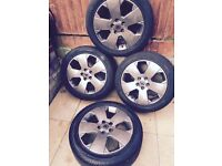 "Vauxhall vectra 17"" gsi alloys"