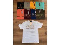 Gucci T-Shirts ( Large, XL, XXL ONLY )