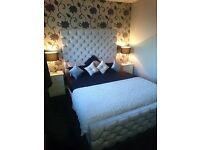 Velvet Bling King size bed for sale