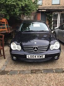 Mercedes C200 Avantgarde 2004 in Perfect Condition - 102000 miles