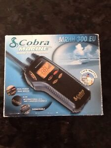 Cobra marine two way hand held radio water proof Woodvale Joondalup Area Preview
