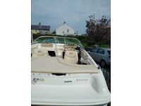 2000 Sea Ray 180 Bowrider on rollercoaster trailer