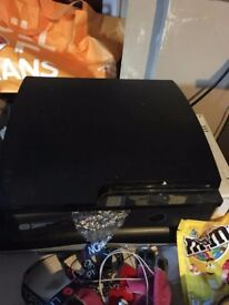 Playstation 3 (sorry no controller) and 3 games