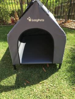 LazyPets Dog Kennel / Dog House As New!